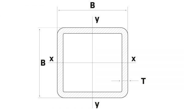 Lineve - Material Siderurgico - Tubo de Ferro - Tubo Quadrado_1