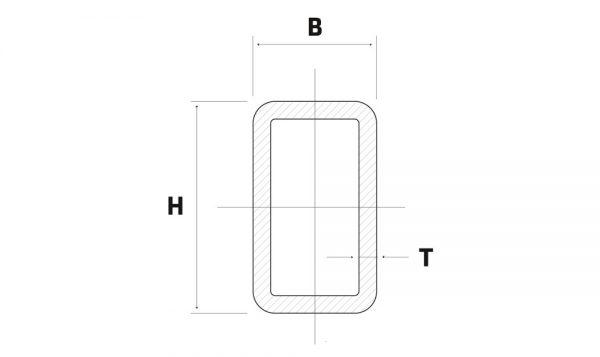 Lineve - Material Siderurgico - Tubo de Ferro - Tubo Retangular_1